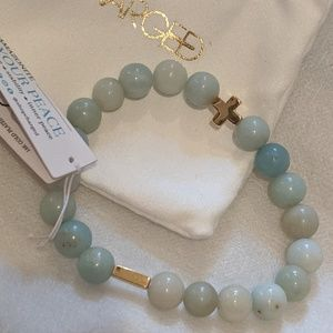 NWT ✨ Charged Amazonite Bracelet